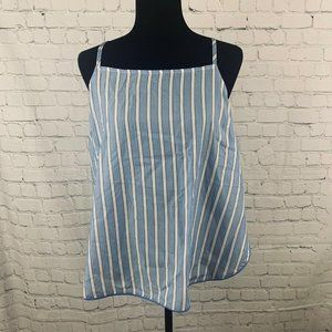 WOMEN'S STRIPED SIMPLY COOL SLEEP CAMISOLE L